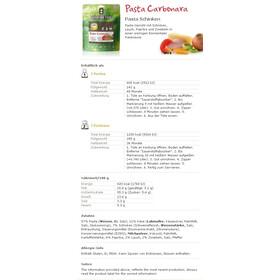 Adventure Food Pasta Carbonara Einzelportion